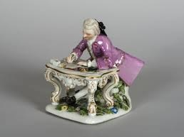 Writing cavalier
