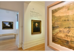 "Installation view of the exhibition ""Noble Prospects: Capability Brown and the Yorkshire Landscape,"" The Mercer Art Gallery, Harrogate, North Yorkshire, 2016. Photo by Simon Miles."