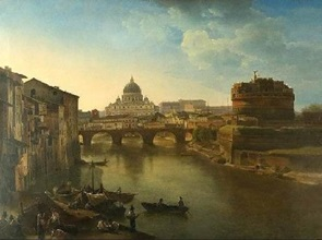 Sylvester Schedrin. New Rome. Castle St.Angelo.