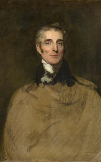 Sir Thomas Lawrence, Unfinished Portrait of Arthur Wellesley, 1st Duke of Wellington, 1829, oil on canvas, 94.3 × 74.3 cm (Private Collection).
