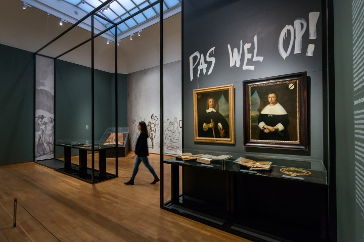 Nederland, Amsterdam, 14-02-2017. Tentoonstelling Goede Hoop in het Rijksmuseum. Foto: Olivier Middendorp
