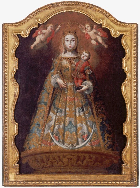 Colonial Major Projects : Major donations from the colección cisneros enfilade
